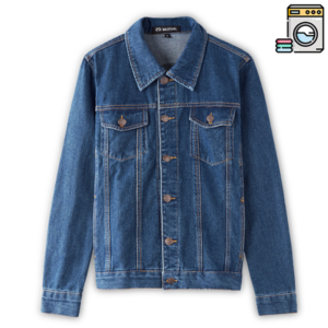 Giacca Jeans Appesa