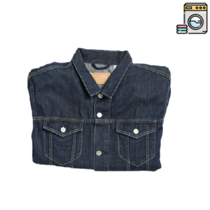 Giacca Jeans Piegata