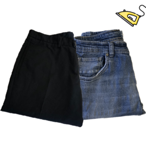 Pantalone Solo Stiro Piegato